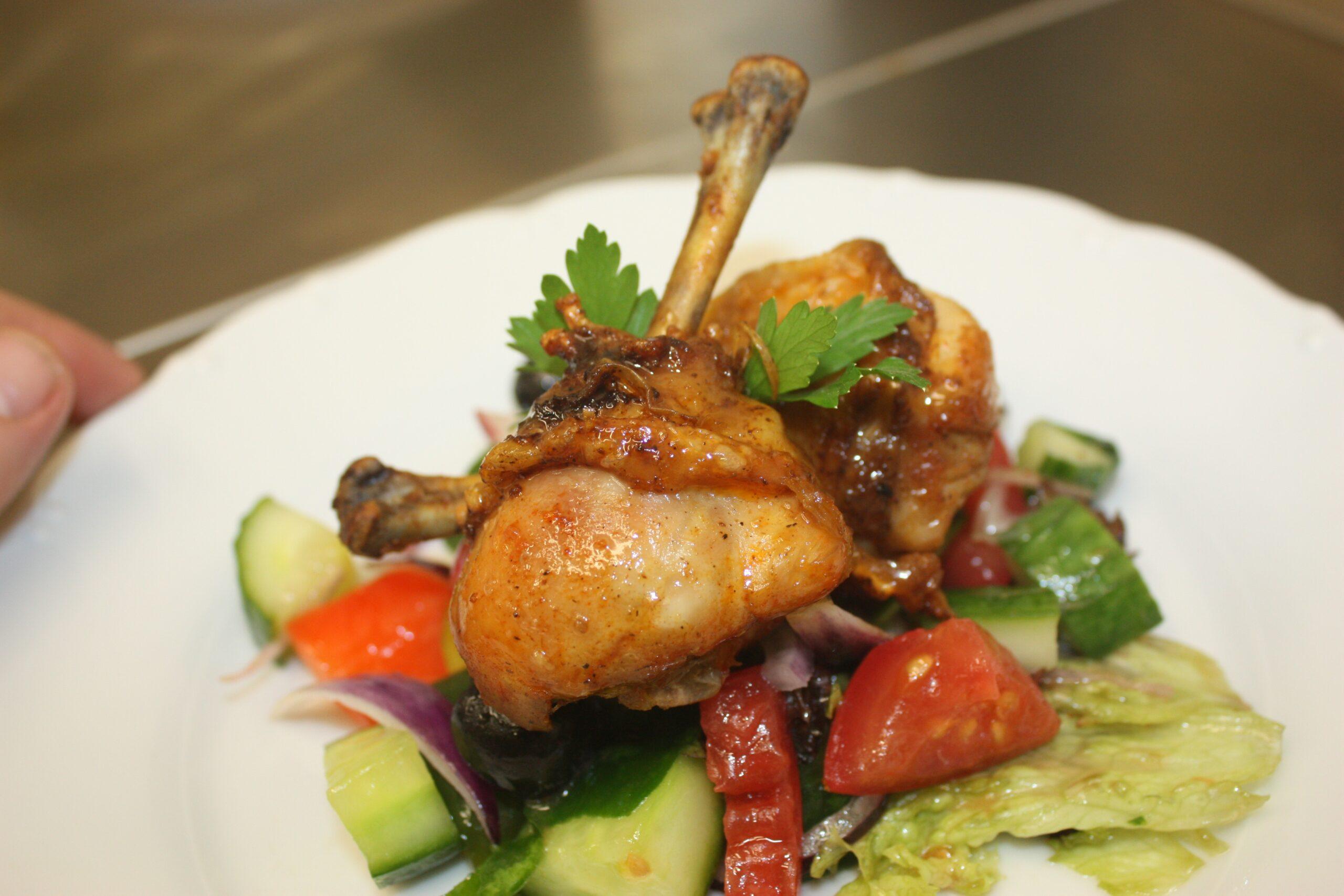 اكلات بالدجاج سهلة مع الخضار