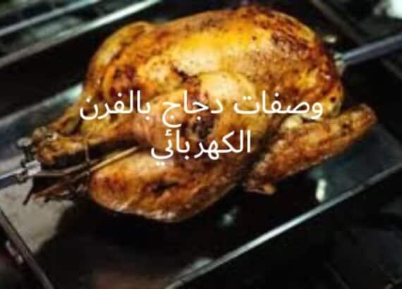وصفات دجاج بالفرن الكهربائي